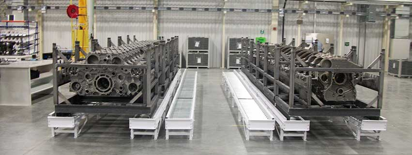 conveyor equipment installation